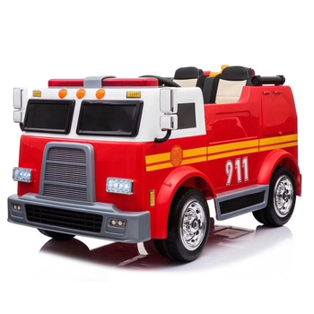 New Alison C07010 Fire truck toy electric ride on kids car boy's toy car