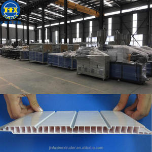 pvc plastic skirting marble profiles gate extrusion tools production producing making line machine for window products shanghai