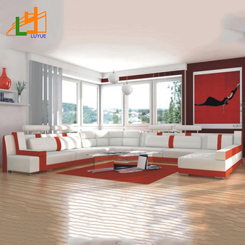 7 Seat Corner L Shape Sofa Home Living Room Furniture Genuine Leather  Sofa,Corner Leather Sofa Set - Buy Living Room Furniture Set,Leather Sofa  ...