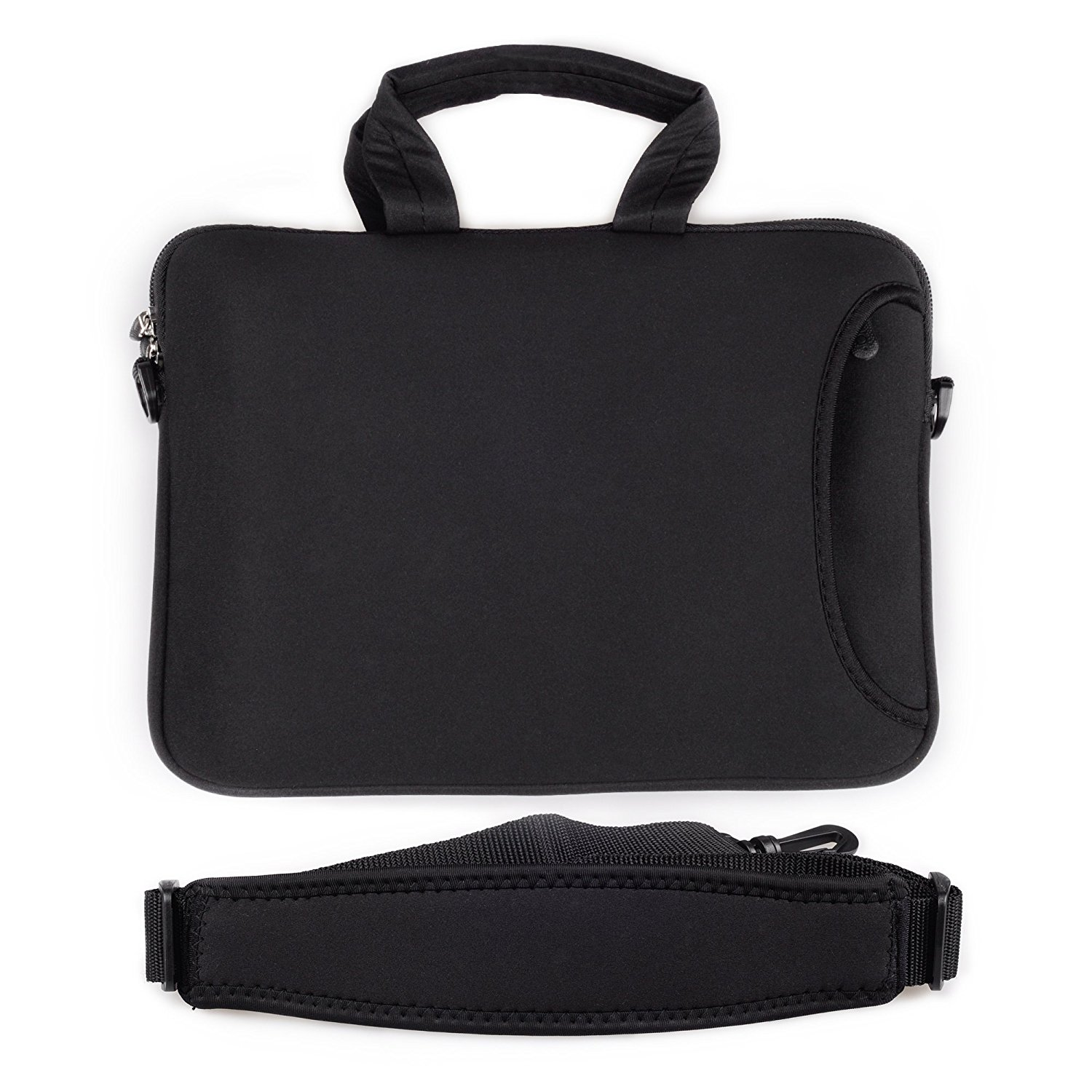 9972ffa2c56c Get Quotations · Sleeve Case Bag for ipad with Shoulder Strap and Handle