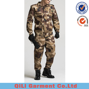 Hot selling Cheap industry ACU Type military army camouflage uniform