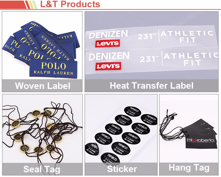 Hot Sale Gold Logo Seal Tag