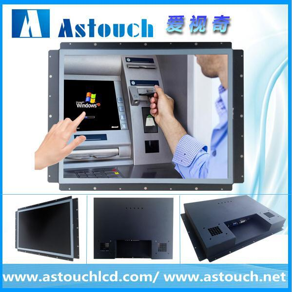 Photo booth application hot !!!19 inch(16:9) wide screen open frame <strong>monitor</strong>