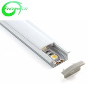 Ultra thin led track aluminum with high Cover,large area lighting aluminum profile led strip light