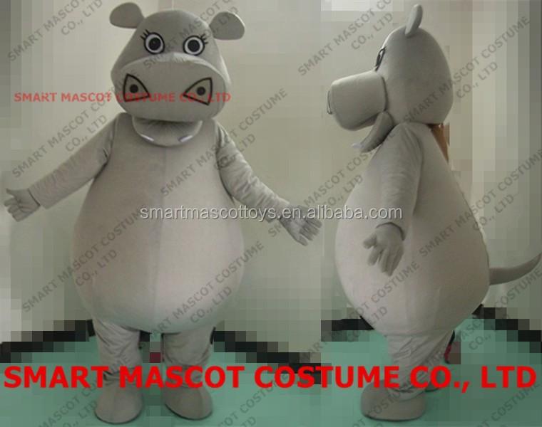 Walking Soft Plush Hippo Gloria Costume