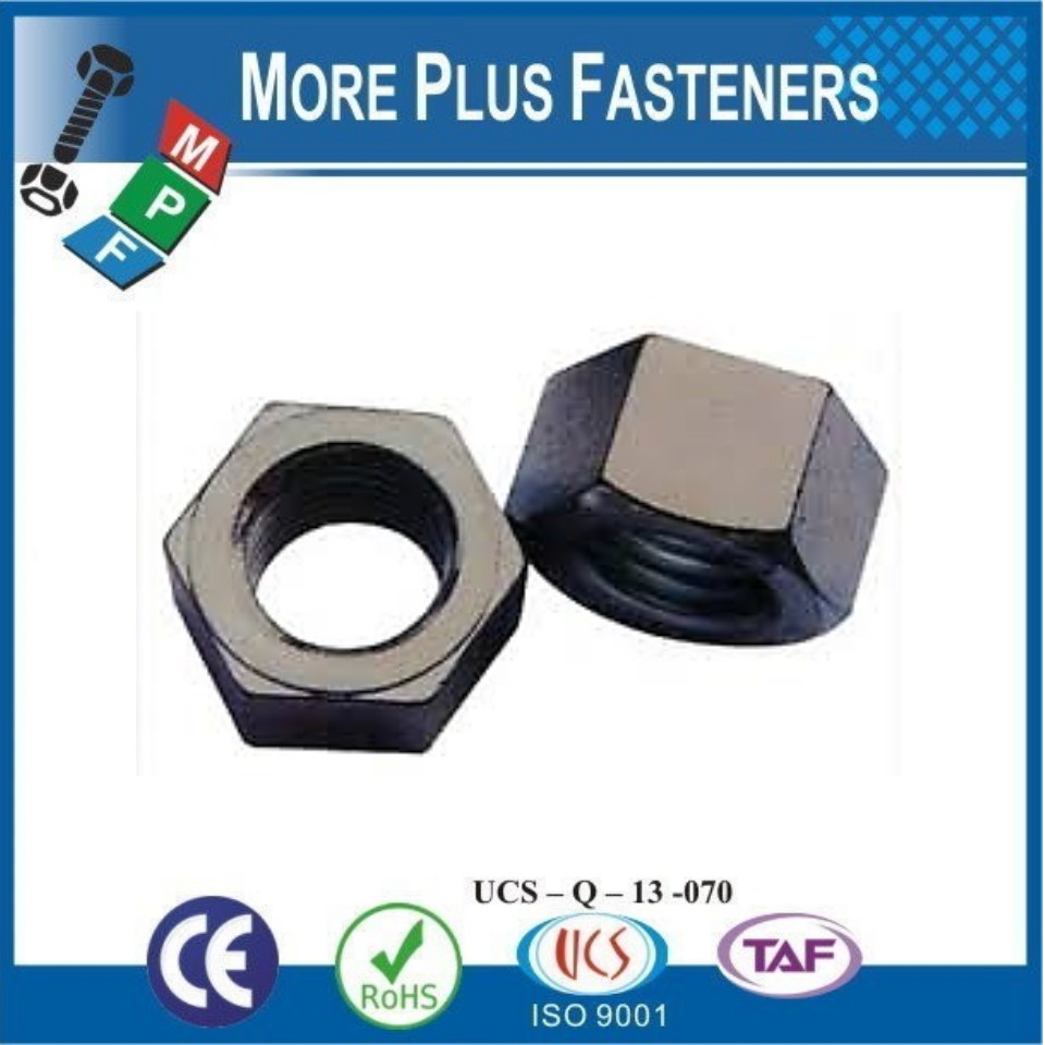 Made in Taiwan ASTM A194 Grade 2H Heavy Hexagon Nut Structural Heavy Nut Stainless Steel Heavy Hex Nut