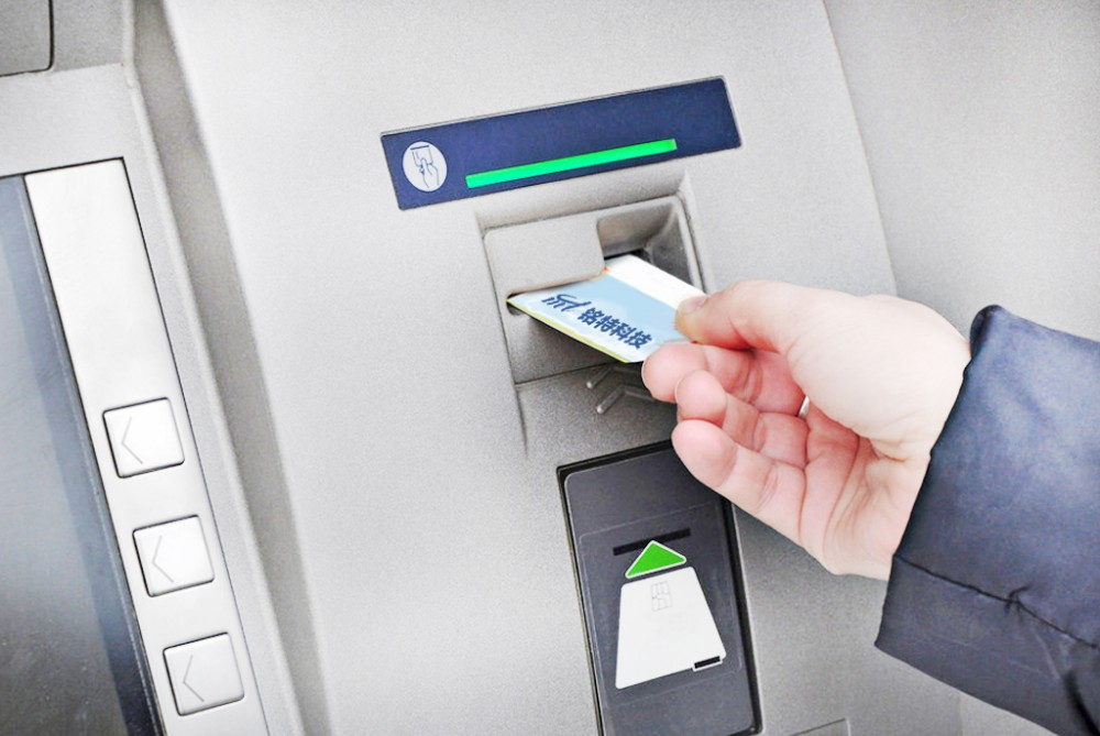 Image result for card reader of the atm images