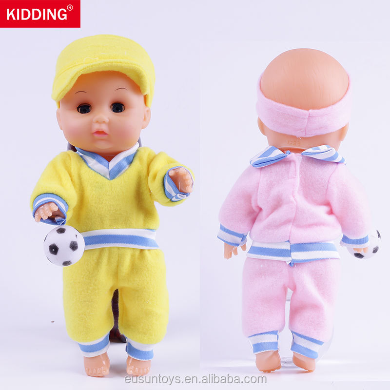 11.8inch/28CM lovely double inflatable doll for birthday gift