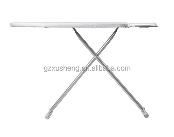 האופנה האופנתית גדלים שונים קרש גיהוץ מתקפל נירוסטה, מקופל שולחן גיהוץ עם כיסוי ZY-69