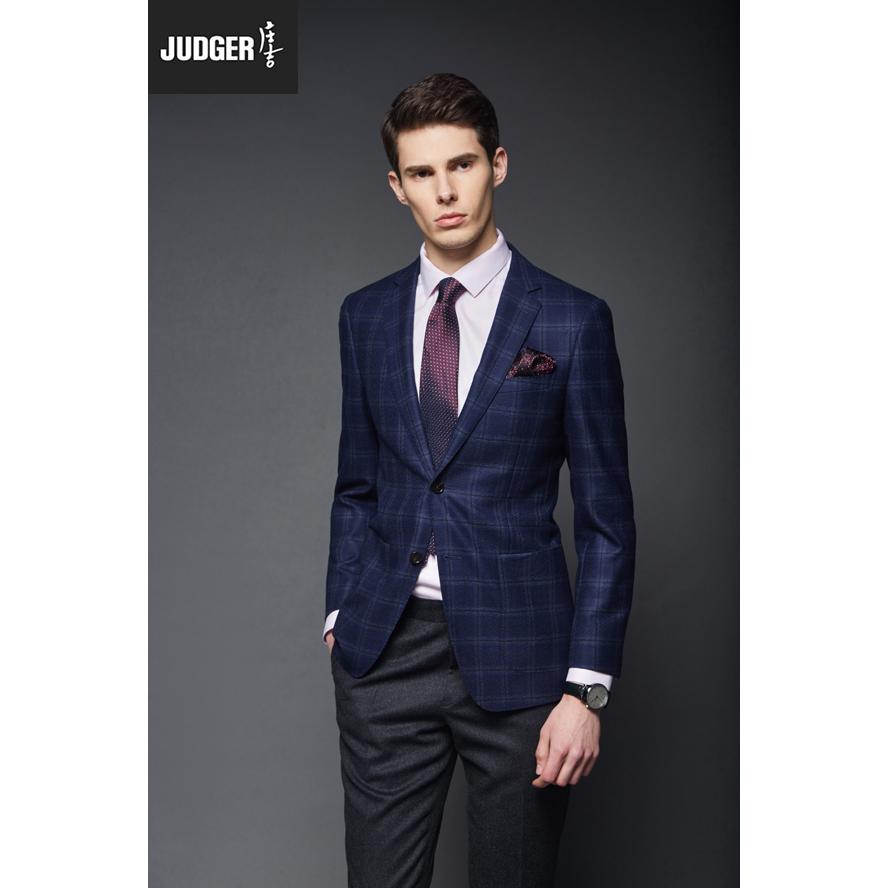 Customaization classic plaid italian men winter wearing custom suit jacket with woolen fabrics фото