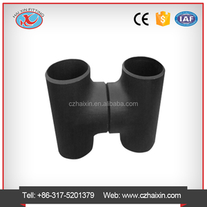 carbon steel pipe fittings dimension sch40 tee & pipe elbow & seamless reducer