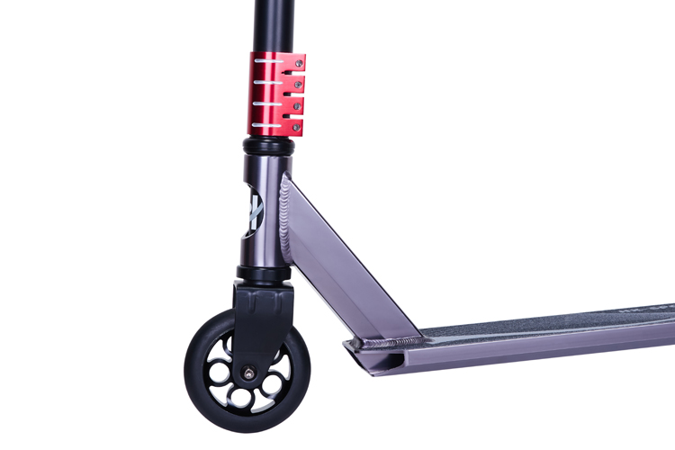 Freestyle aluminium  Pro Stunt Scooter with chrome steel bar for Adult and Teenagers