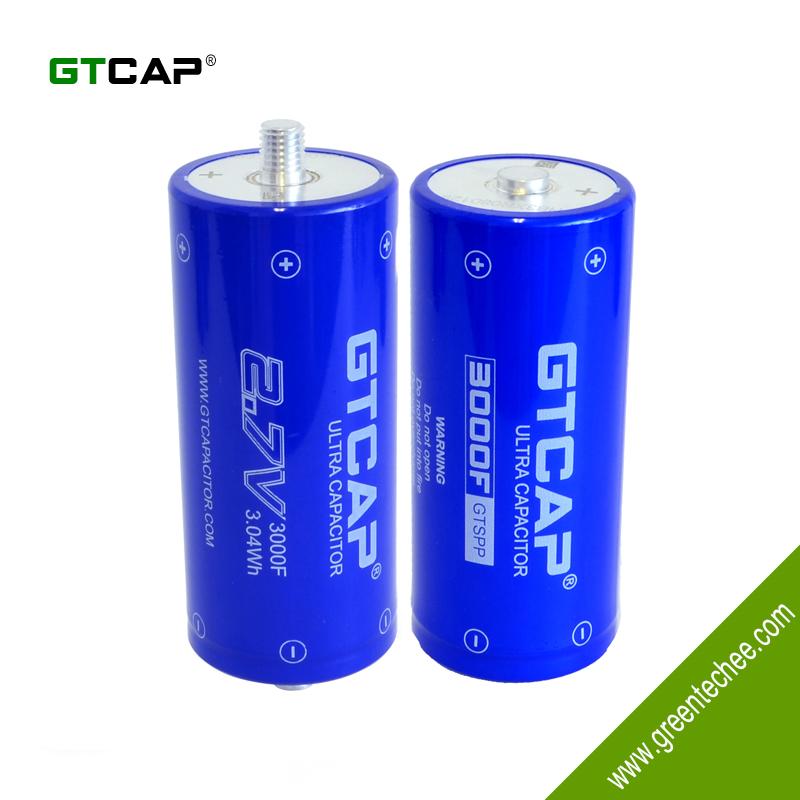 Gtcap Ultracapacitor 3000f 2 7v,Supercapacitor,Screw Terminal,Electric  Double Layer Capacitor Edlc - Buy Ultracapacitor  3000f,Supercapacitor,Electric