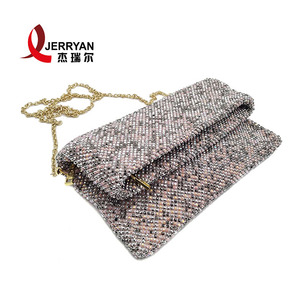 Elegant evening handbag Beaded clutch bag india custom clutch purse rectangle clutch bag