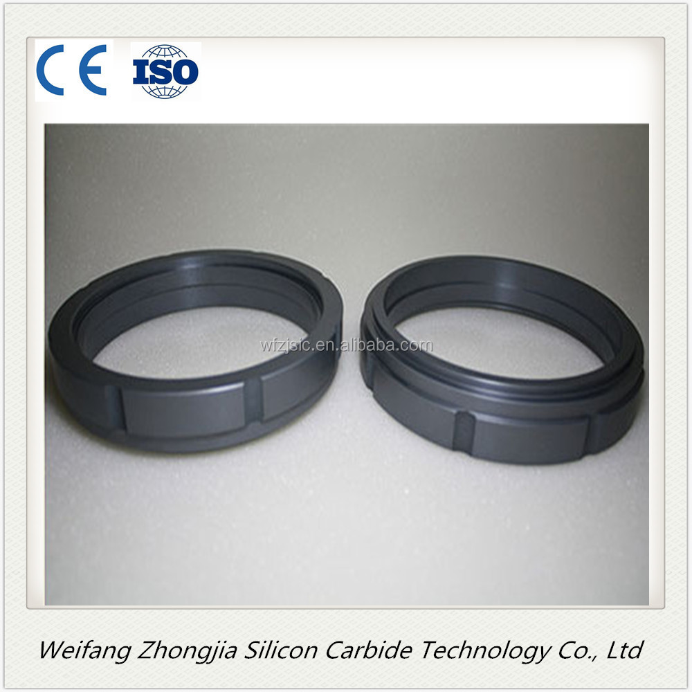 High hardness Silicon Carbide ceramic seal ring for machinery industry