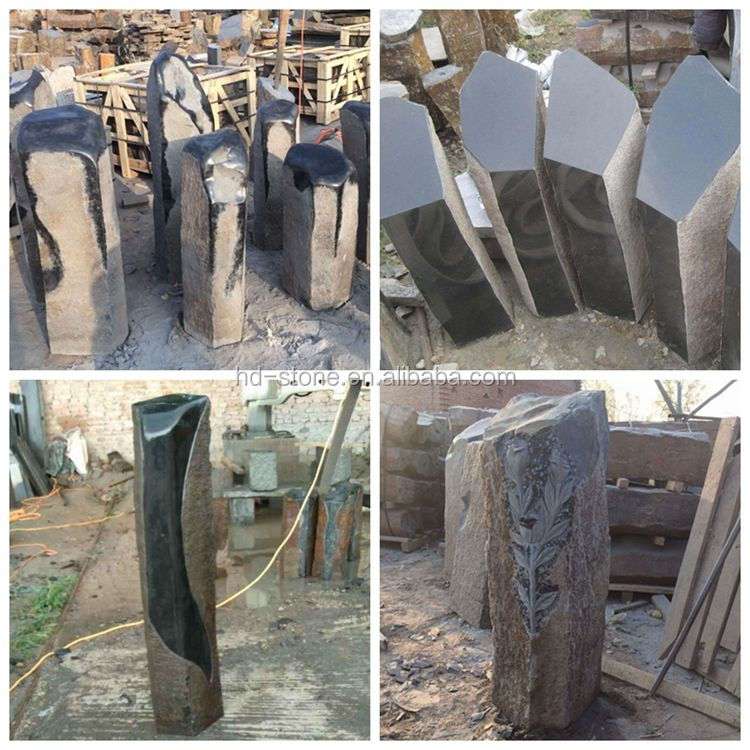 Chinese Basalt Column for Landscaping, Long Natural Basalt Columns Carving Stone or Garden Pillars Basalt Stone for Sale