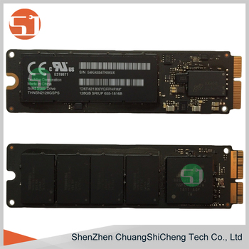 Tested Working For Apple Macbook Pro/air A1465 A1466 A1398 A1502 2013 2014  2015 655-1816b Pcie Ssd Solid State Drive - Buy 655-1816b,128gb Ssd,Pcie