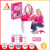 Cute Furniture Toy Play Dresser Toy With Mirror have the music and light