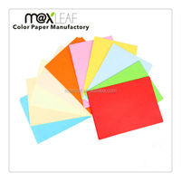 80gsm A4 uncoated multicolor colorful offset paper