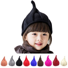 2017 Fashion Toddler Baby Children Winter Autumn Cap Knitted Warm Beanie for Girls