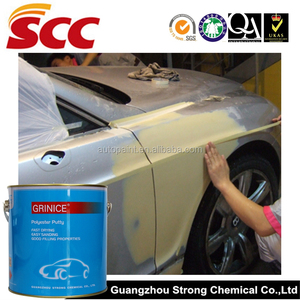 Car paint usage automotive body filler