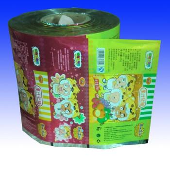 Custom Printed Auto Packaging Film Roll Stock Film