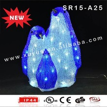 Outdoor Holiday Decorative Light Up Penguin Christmas Decorations ...
