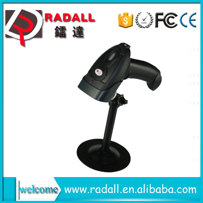 RD-1698 anti-drop manufacturer virtual Keyboard interface supermarket warehouse barcode reader with memory