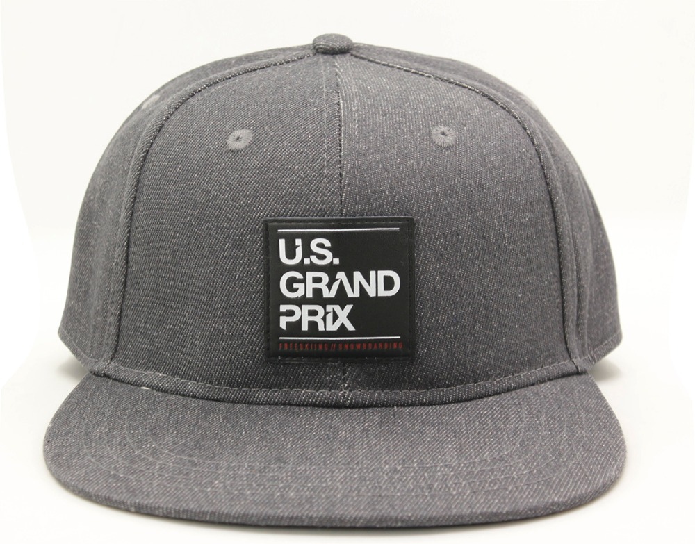 customize fashion 6 panel plain snapback hats