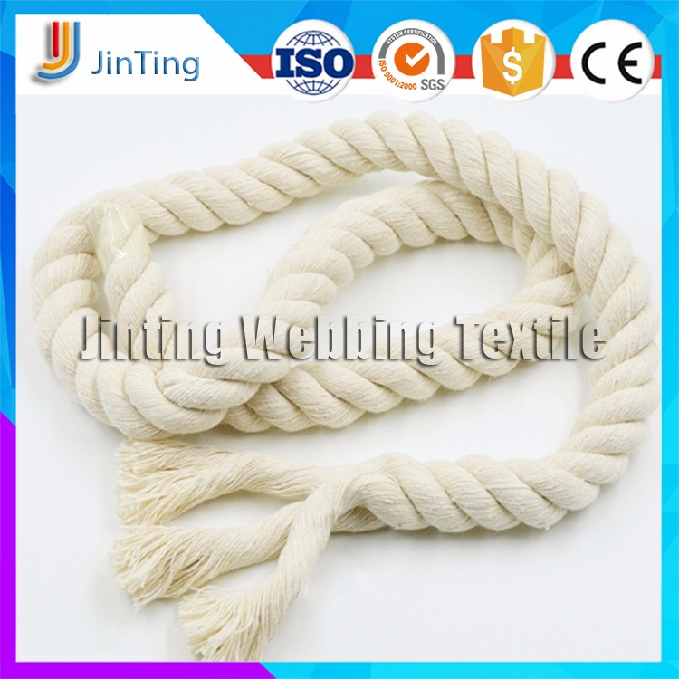 Wholesale Cheap Cotton Twisted 3 strand Rope For Packing