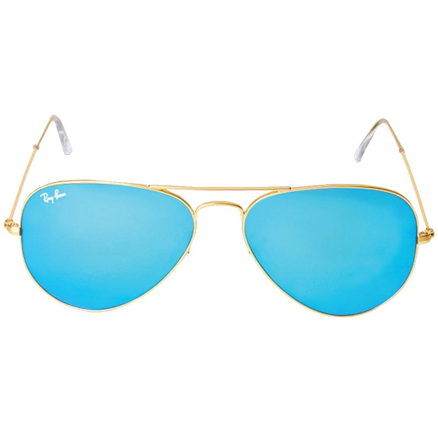 Get Quotations · Ray-ban Men s and Women s Rb3025 112 17 Gold Frame Blue  Lens Aviator 58mm 5642effd19