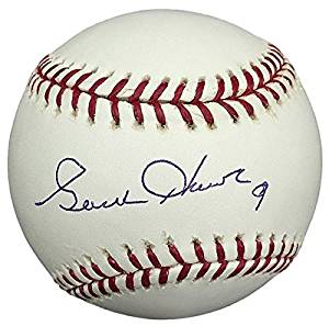 fdc9a9601c6 Get Quotations · Gordie Howe Detroit Red Wings Autographed Rawlings  Official MLB Baseball - PSA DNA Certified -