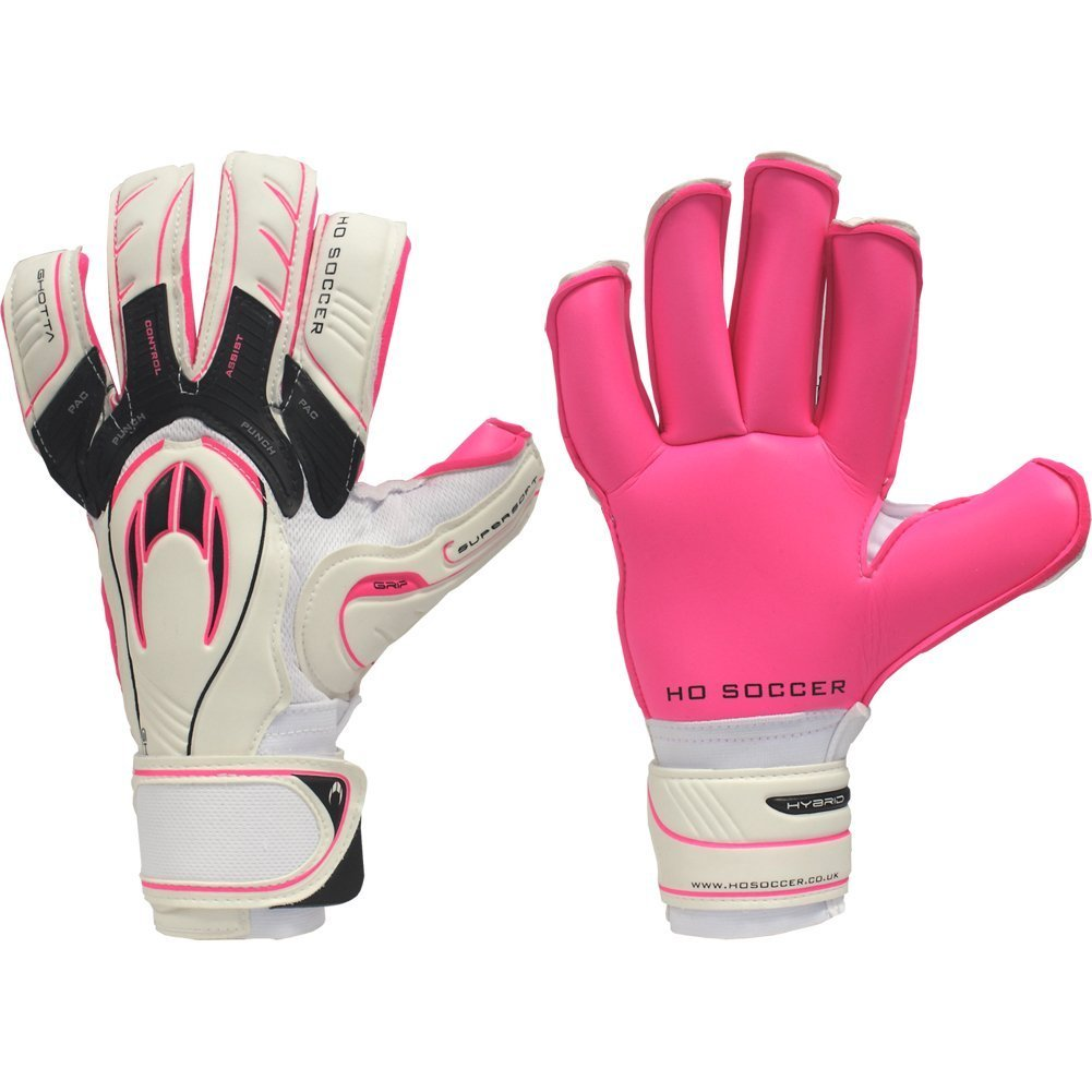 HO GHOTTA P.A.C CLUB ROLL FINGER Goalkeeper Gloves Size