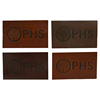 Professional Fasion Design OEM ODM Custom Embossed Leather Patch
