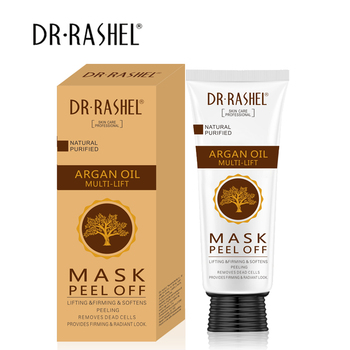 DR.RASHEL Lifting Firming Soften Peeling Remove Dead Cells Argan Oil Peel Off Facial Mask