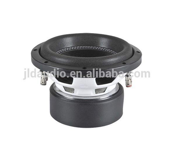 High Performance Non-pressed pulp cone 250w audio subwoofers parts 8 inch speaker subwoofers