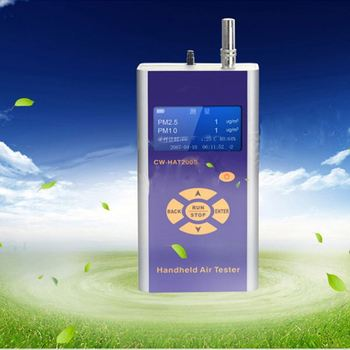 Air Gas Quality Meter Alarm Digital Temp Humidity Particulate Matter Air Monitor PM2.5 Detector