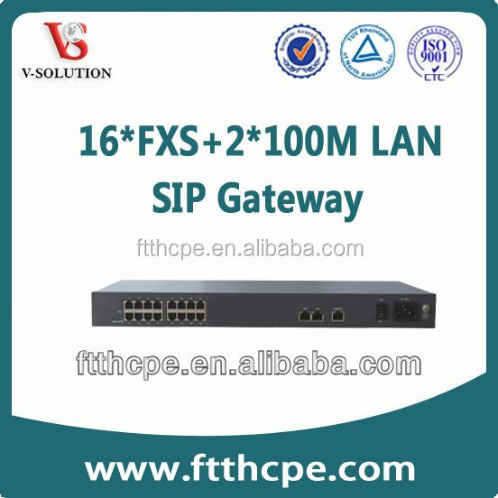 16 RJ11 port internet calling free voip service providers gateway