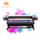 Digital printing machine 1.6m 1.8m small eco solvent printer for outdoor advertising board