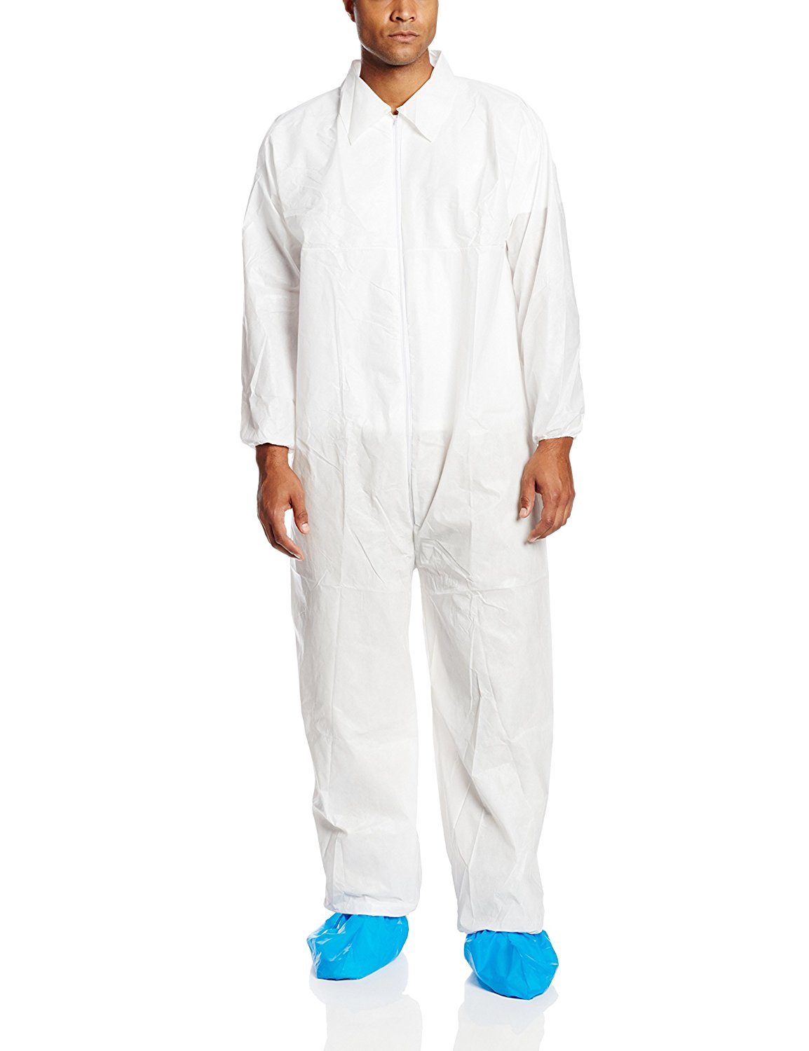 Protective Suit Size 2XL 25 Count Kimberly-Clark KLEENGUARD A35  Coverall 38950