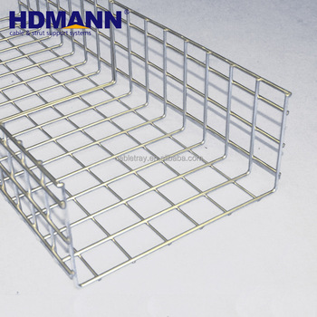 Oem Support Assembled Electric Wire Mesh Steel Basket Cable Tray ...