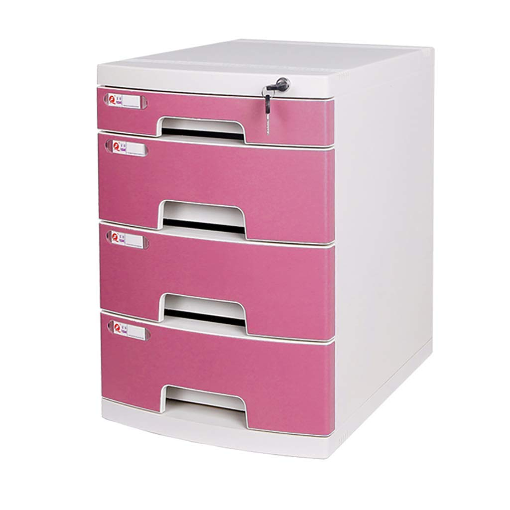 WJ Drawers Drawer Storage Trolley, Monochrome Mobile Storage Trolley Home,Office & Salon (Color : C)