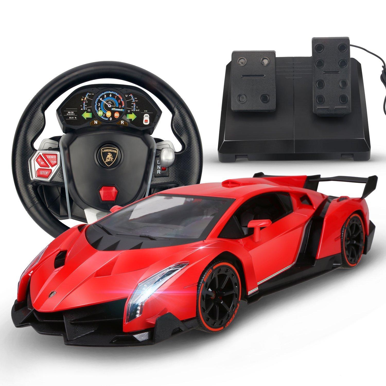 Buy Holy Stone Rc Car Lamborghini Veneno 1 14 Scale Realistic