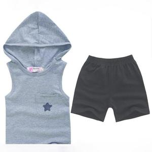Summer Five-star Hoodie Cotton Baby clothes Tops+Pants Outfits Set Clothing Suit All for Kids Clothing and accessories for 1-6Y