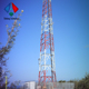 steel lattice tower 40m four legged self supporting communication tower