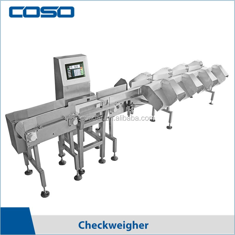 Automatic weight sorting machine for seafood/chicken feet/potato/fruit