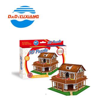 Kids play paper house 3d puzzle diy toy from Dadi, View 3d puzzle diy toy,  Dadi Product Details from Shantou Dadi Plastic Toys Industry Co , Ltd  on