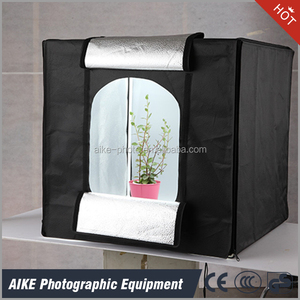 Folding Photo Box Tent LED Light Table Top Photography Studio Kit, Portable Photography Studio