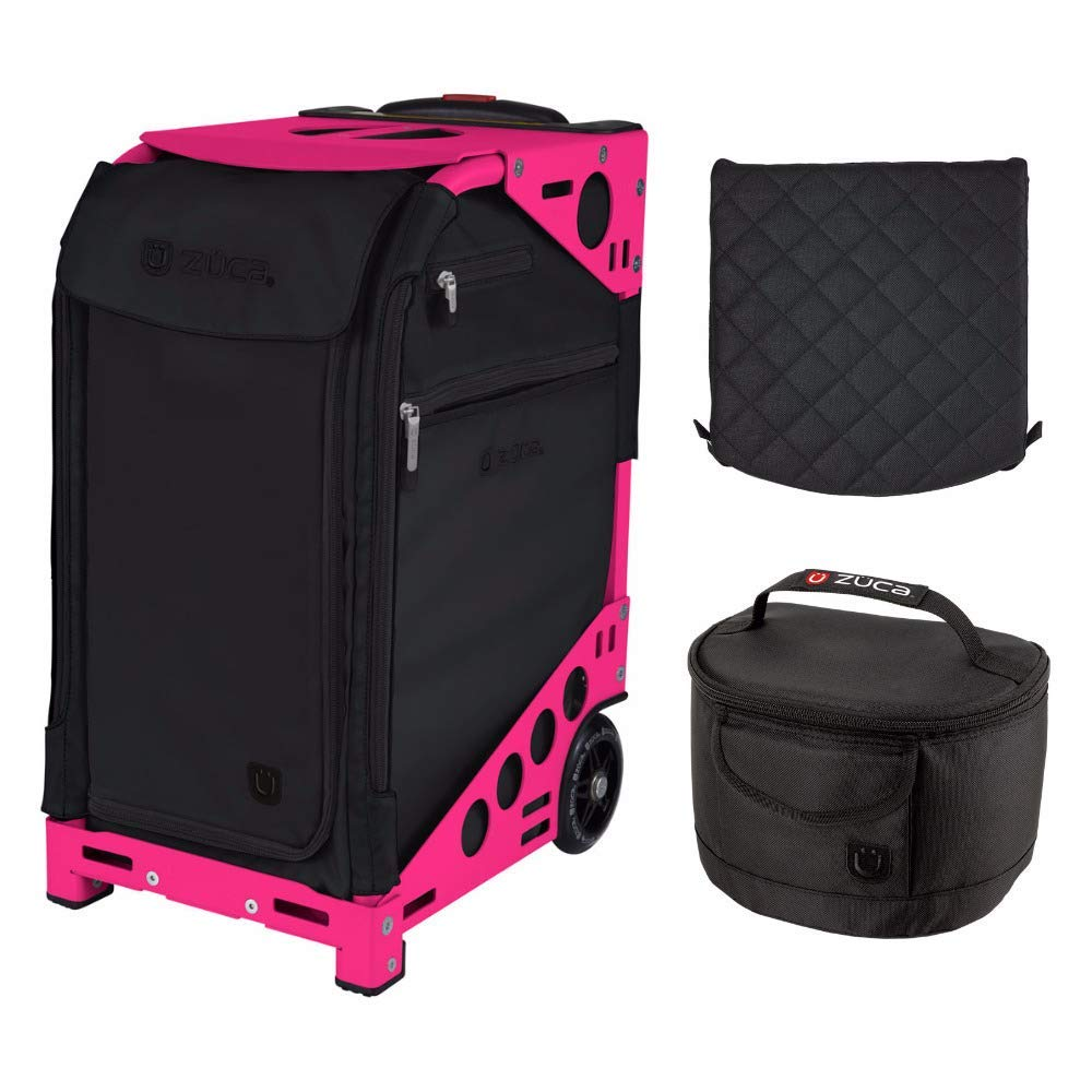 Get Quotations · ZUCA Oxford Pro Artist Bag (Neon Pink Frame) with 5  Storage Pouches e713bce65b665
