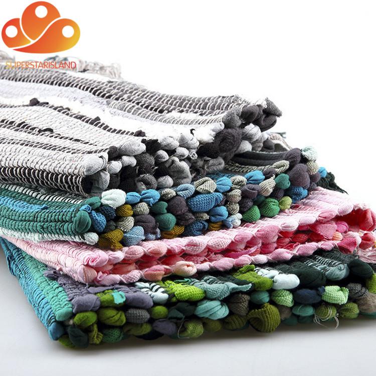 Cheap Rag Rugs Colored Cotton Shaggy Woven Kitchen Chindi Rag Rugs - Buy  Kitchen Rag Rugs,Cotton Shaggy Rag Rugs,Cheap Rag Rugs Product on  Alibaba.com